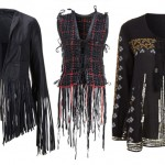 Kate Moss Topshop collection 2014 fringed sequined tops