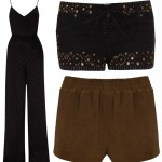 Kate Moss Topshop collection 2014 jumpsuit shorts