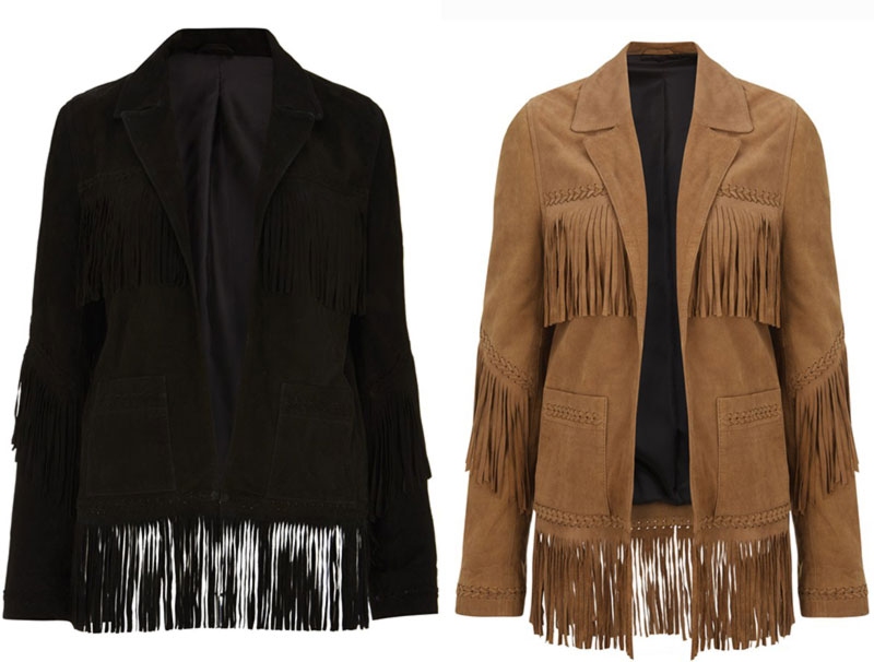 Kate Moss Topshop collection 2014 leather jackets