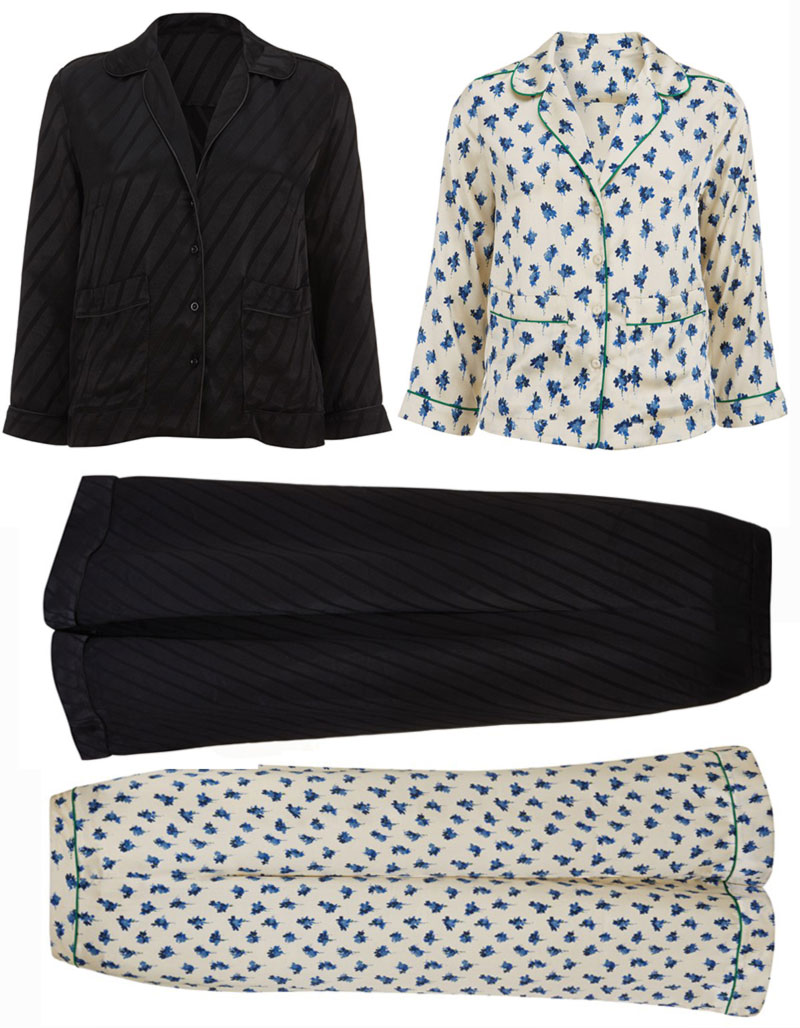 Kate Moss Topshop collection 2014 pajamas