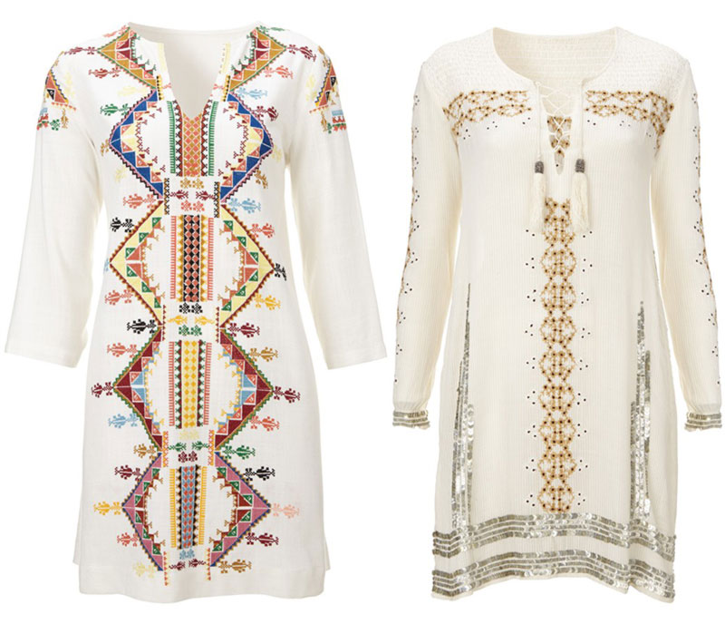 Kate Moss Topshop collection 2014 tunics