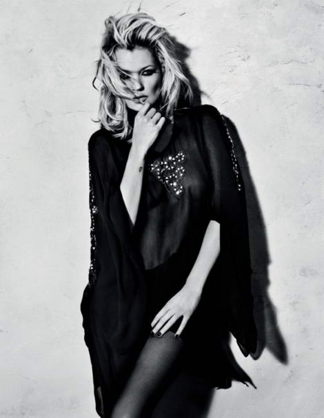 Kate Moss Topshop fall winter 2009 collection kaftan