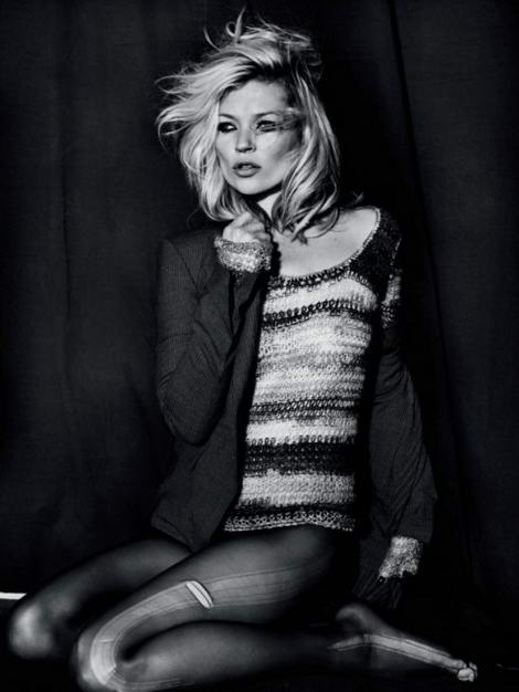 Kate Moss Topshop fall winter 2009 collection sweater