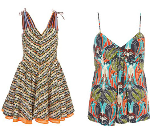 Kate Moss Topshop Summer 2009 collection 3