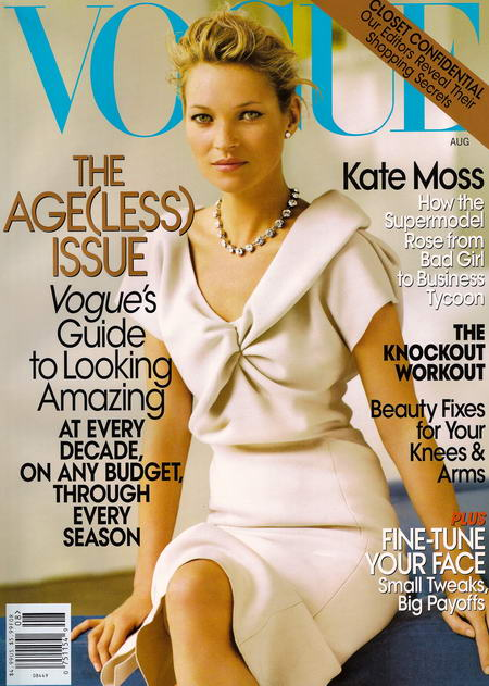 Kate Moss US Vogue August 2008