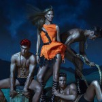 Kate Moss Versace Spring 2013 ad campaign