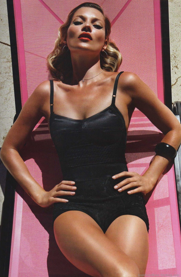 Kate Moss Vogue Paris June July 2010 2