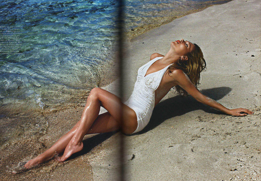 Kate Moss Vogue Paris June July 2010 3