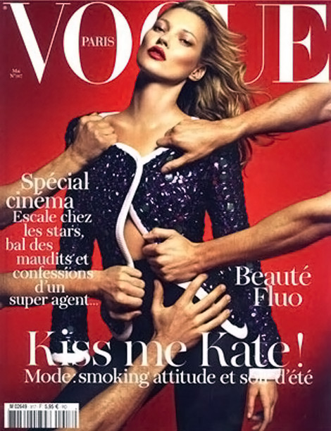 Kate Moss Covers Vogue Paris May 2011