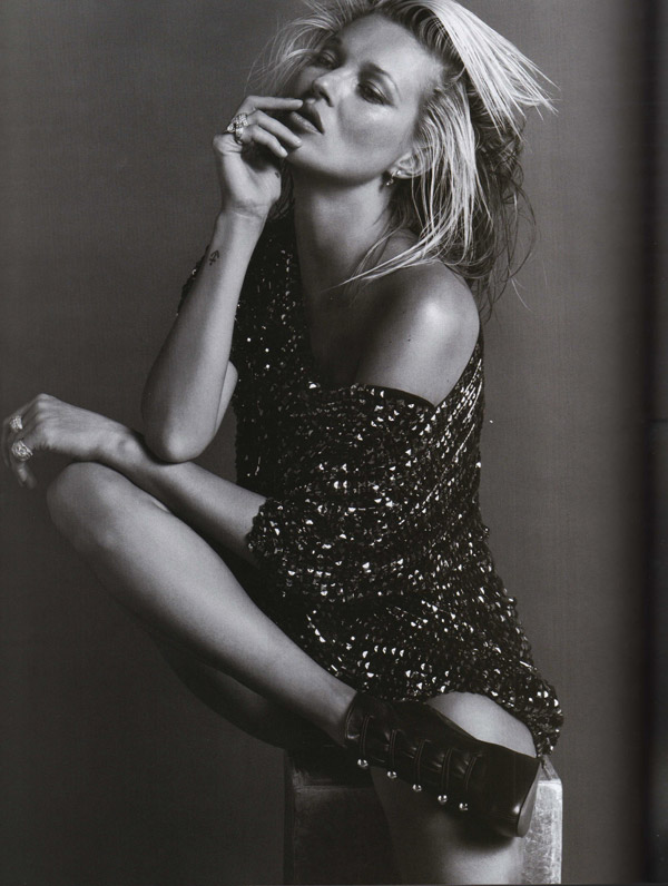 Kate Moss Vogue Paris October 2009 7