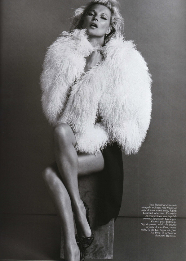 Kate Moss Vogue Paris October 2009 8