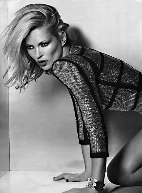 Kate Moss Vogue Russia September 2009