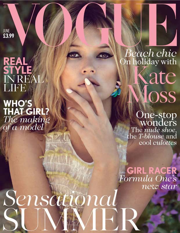Kate Moss Vogue UK June 2013 cover