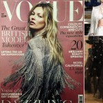 Kate Moss Vogue UK May 2014 cover Chanel