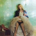 Kate Moss Vogue UK October 2008 photo