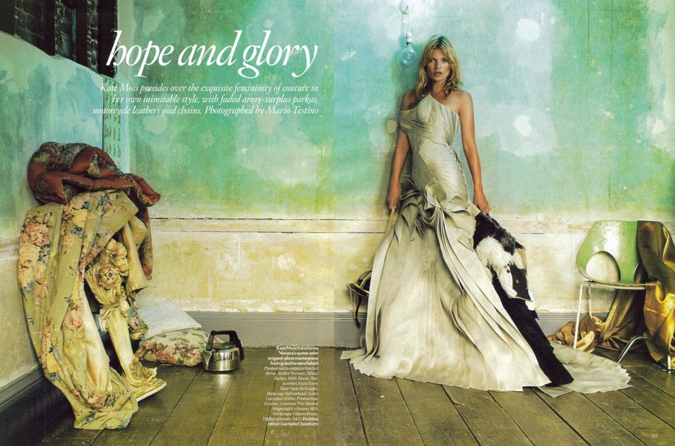 Kate Moss Vogue UK October 2008 pictorial
