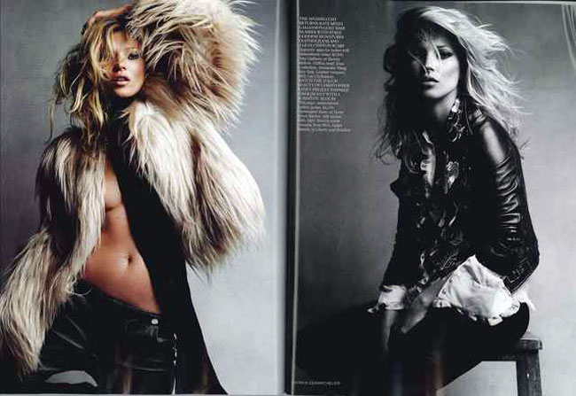 Kate Moss Vogue UK September 2010 2
