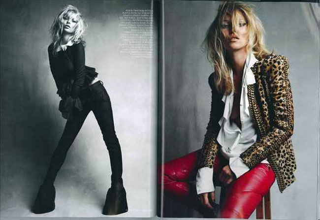 Kate Moss Vogue UK September 2010 3
