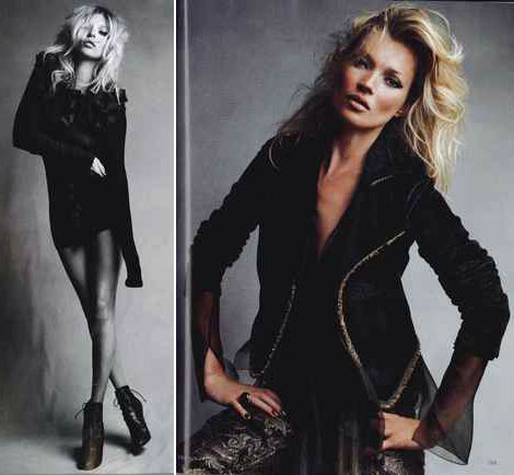 Kate Moss Vogue UK September 2010