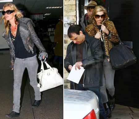 Kate Moss And Her YSL Muse Bag - StyleFrizz