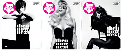 Kate Naomi Lady Gaga i D pre fall 2010 covers