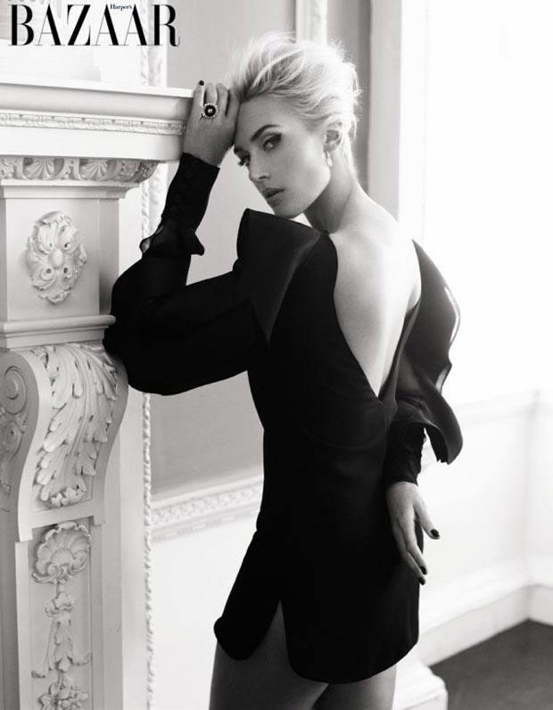 Kate RocknRoll black and white Harper s Bazaar