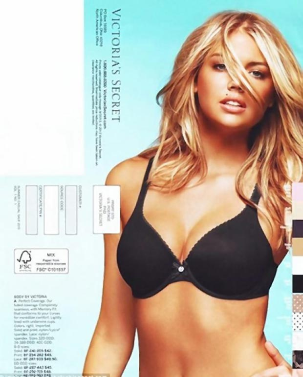 Kate Upton lingerie Victoria s Secret catalog