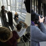 Kate Winslet Madame Figaro Magazine behind the scenes 1