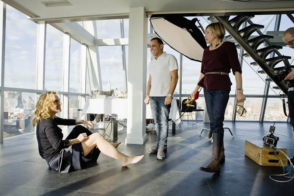 Kate Winslet Madame Figaro Magazine behind the scenes 3
