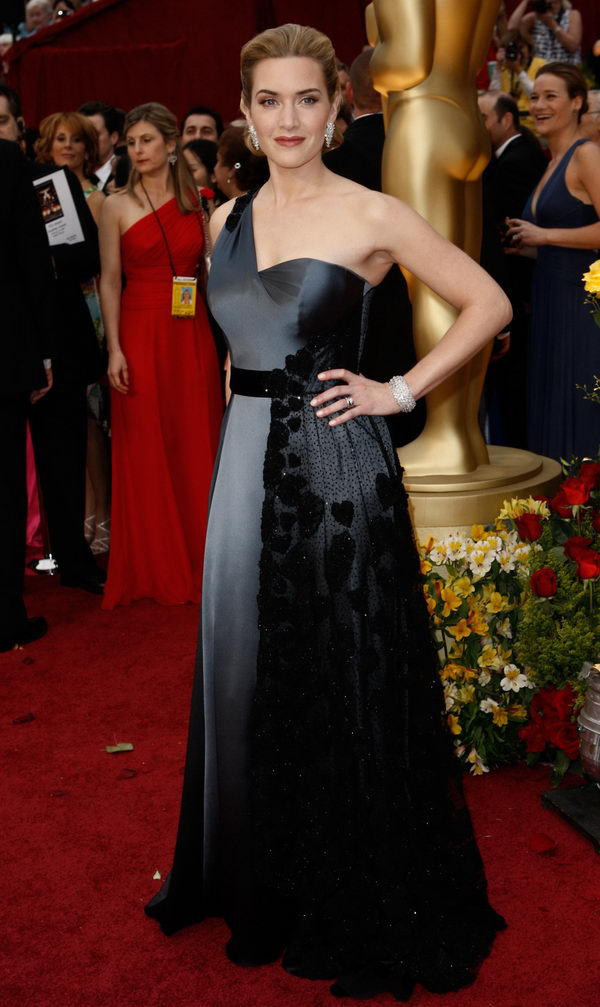 kate winslet ysl dress oscars 2009 3