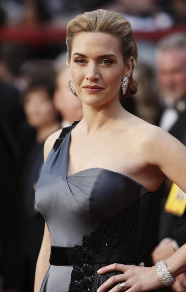 kate winslet ysl dress oscars 2009 4
