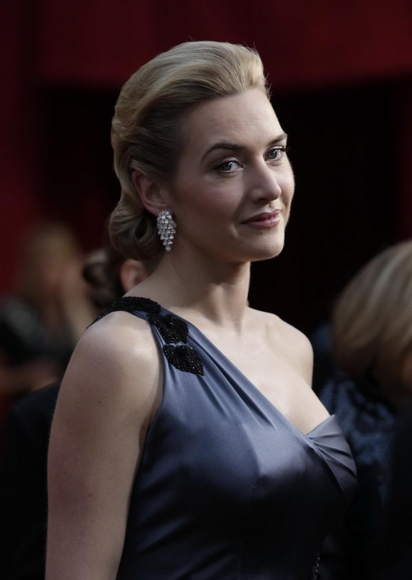kate winslet ysl dress oscars 2009 5