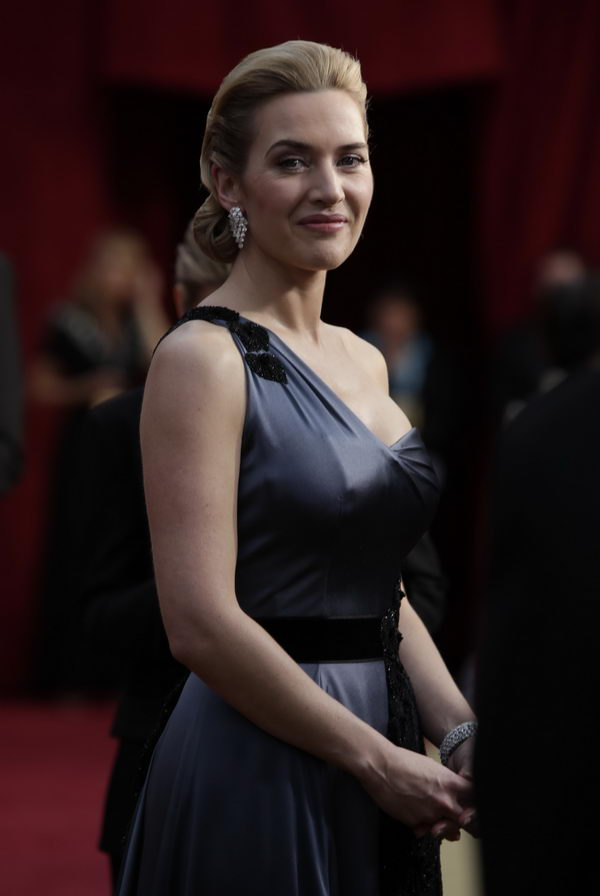kate winslet ysl dress oscars 2009 7