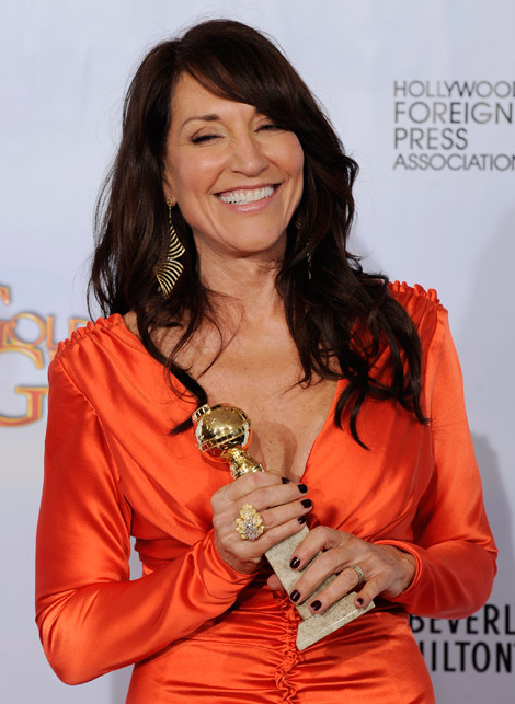 Katey Sagal Golden Globes 2011 dress