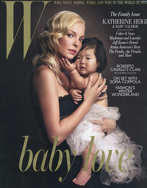 Katherine Heigl baby Naleigh W December 2010 cover