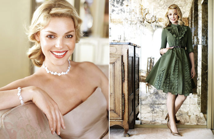 Katherine Heigl Harper s Bazaar June July 2010 1