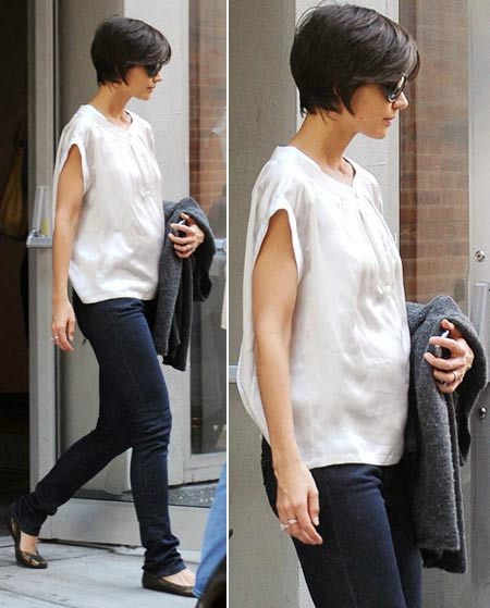 Katie Holmes Baby Bump Watch?