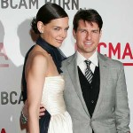 Katie Holmes and Tom Cruise at the BCAM Event