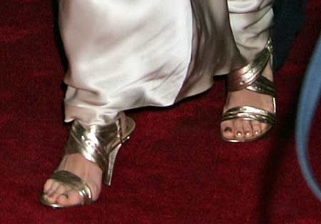 Katie Holmes Sandals at the BCAM