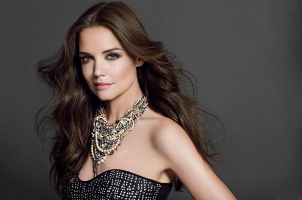 Katie Holmes 2013 Ad Campaigns: Bobbi Brown, Alterna Hair Care