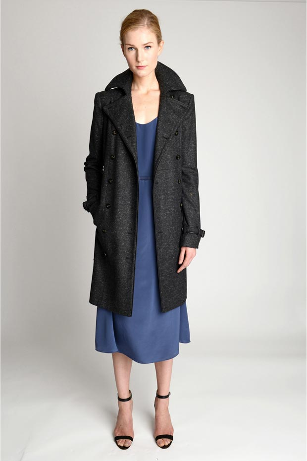 Katie Holmes coat dress Holmes Yang Fall 2013 collection