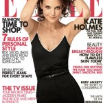 Katie Holmes Elle February 2011 cover