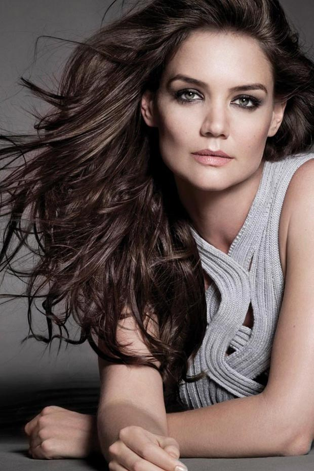 Katie Holmes hair Alterna Spring 2013 ad
