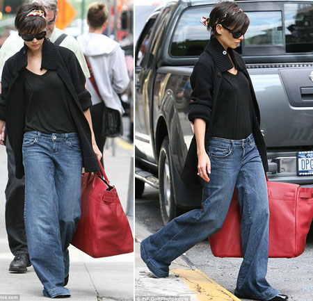 Katie Holmes And Her Gorgeous Hermès Haut De Courroies