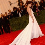Katie Holmes Met Gala 2013 white dress