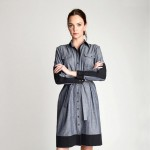 Katie Holmes shirt dress Holmes Yang Fall 2013