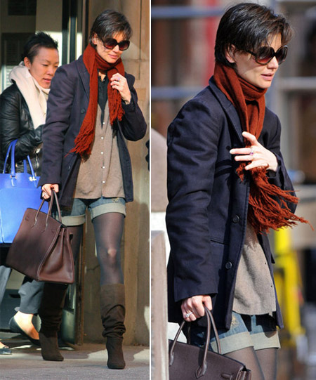 Katie Holmes And Her Short Fashion Disaster