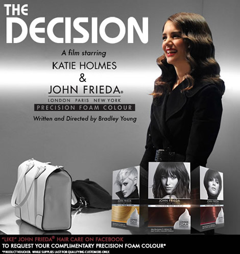 Katie Holmes' Decision Short Film For John Frieda Precision Foam Colour