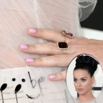 Katy Perry Grammy pink nails