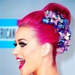 Katy Perry hairstyle pink